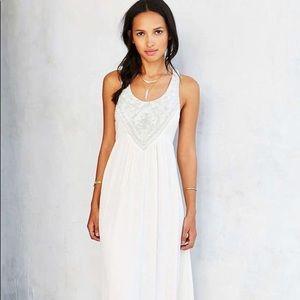 Triton Embellished Maxi Dress by Ecote Sz Medium